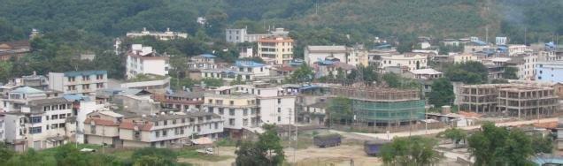 地处大别山腹地,是鄂豫皖三省交界处的一座山区边贸重镇,安徽省综合