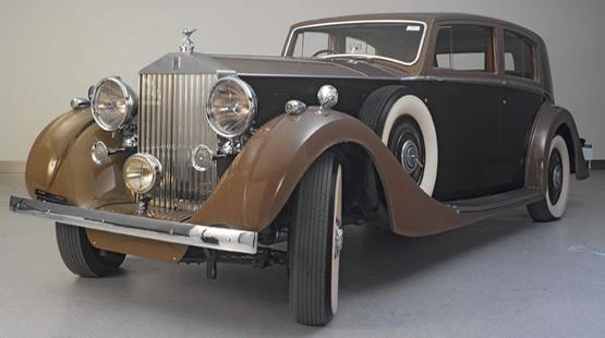 劳斯莱斯幻影3型车