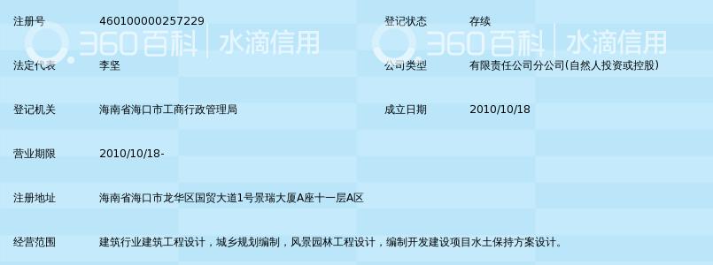 广东建筑艺术设计院有限公司海南分公司_360