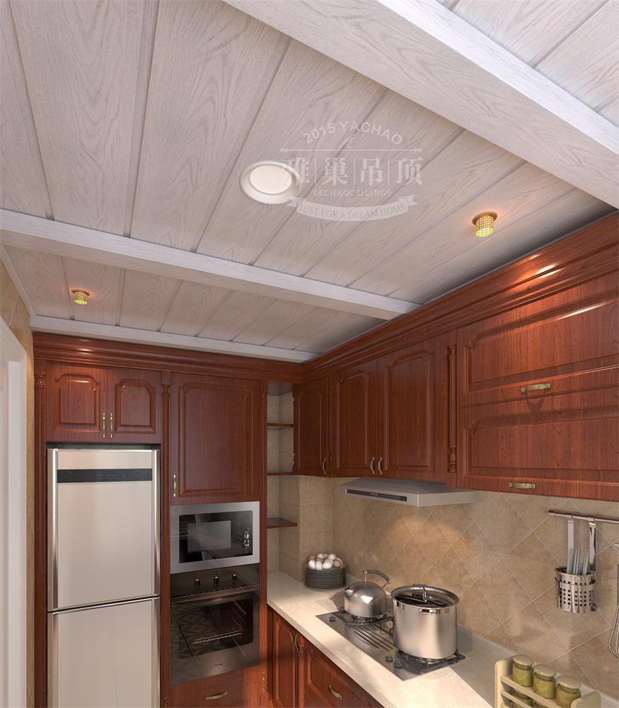 铝扣板是最适合于厨房和卫生间吊顶用途的装饰材料