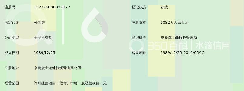 奈曼青龙山地图